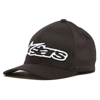 Alpinestars Blaze Flexfit Black/White Hat