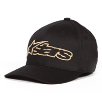 Alpinestars Blaze Flexfit Black/Gold Hat
