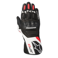 Alpinestars Men's SP-8 v2 Black/Red Gloves