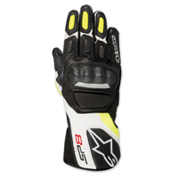 Alpinestars Men's SP-8 v2 Black/Hi-Viz Gloves