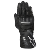 Alpinestars Men's SP-8 v2 Black/Gray Gloves
