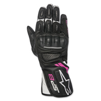 Alpinestars Women's Stella SP-8 v2 Black/Fushia Gloves