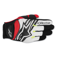 Alpinestars Men's Spartan Black/Red Gloves