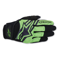 Alpinestars Men's Spartan Black/Green Gloves