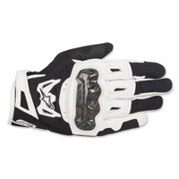 Alpinestars Men's SMX-2 v2 Air Carbon Black/White Gloves