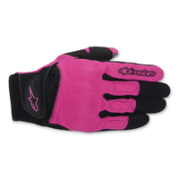 Alpinestars Women's Stella Spartan Black/Pink Gloves