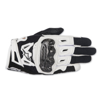 Alpinestars Women's Stella SMX-2 v2 Air Carbon Black/White Gloves