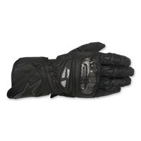 Alpinestars Men's SP-1 Black/Black Leather Gloves