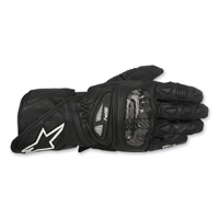 Alpinestars Men's SP-1 Black Leather Gloves
