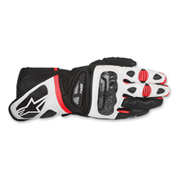Alpinestars Men's SP-1 Black/White/Red Leather Gloves