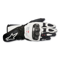 Alpinestars Women's Stella SP-1 Black/White Leather Gloves