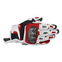 Alpinestars Men's SPX Air Carbon White/Red Glove