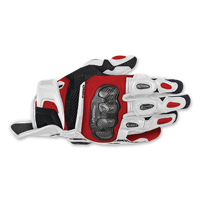 Alpinestars Men's SPX Air Carbon White/Red Glove
