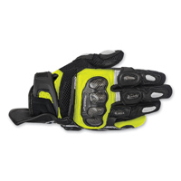 Alpinestars Men's SPX Air Carbon Black/Hi-Viz Glove