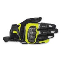 Alpinestars Men's SPX Air Carbon Black/Hi-Viz Glove