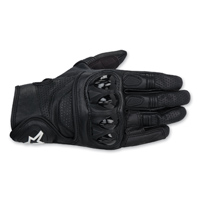 Alpinestars Men's Celer Black Leather Gloves