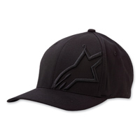 Alpinestars Corp Shift 2 Flexfit Black/Black Hat