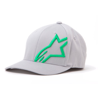 Alpinestars Corp Shift 2 Flexfit Gray/Green Hat
