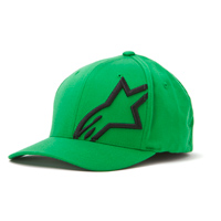 Alpinestars Corp Shift 2 Flexfit Green/Black Hat