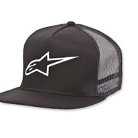 Alpinestars Corp Trucker Black Hat