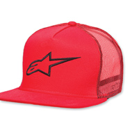 Alpinestars Corp Trucker Red Hat