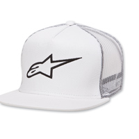 Alpinestars Corp Trucker White Hat
