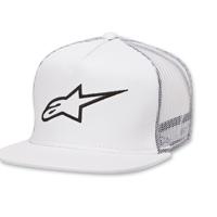 Alpinestars Corp Trucker White Hat