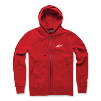 Alpinestars Men's Expo Red Full Zip Hoodie