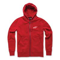 Alpinestars Men's Expo Red Full Zip Hoodie