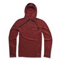 Alpinestars Men's Borsen Red Hoodie