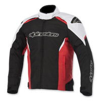 Alpinestars Men's Gunner Waterproof Black/Red Jacket