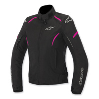 Alpinestars Women's Stella Gunner Waterproof Black/Fushia Jacket