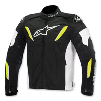 Alpinestars Men's T-GP R Waterproof Black/Hi-Viz Jacket