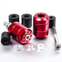 Pro-Bolt Universal Bar Ends Red