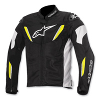 Alpinestars Men's T-GP R Air Black/Hi-Viz Jacket
