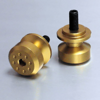 Pro-Bolt 6mm Gold Swingarm Spools
