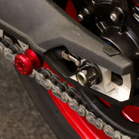 Pro-Bolt 8mm Red Swingarm Spools