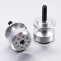 Pro-Bolt 8mm Silver Swingarm Spools