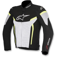 Alpinestars Men's T-GP Plus R v2 Air Black/White/Hi-Viz Jacket