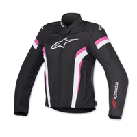 Alpinestars Women's Stella T-GP Plus R v2 Air Black/Fushia Jacket