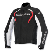 Alpinestars Men's Fastback Waterproof Black/Red Jacket