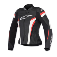 Alpinestars Women's Stella GP Plus R v2 Airflow Black/Red Jacket