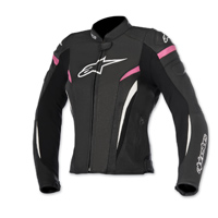 Alpinestars Women's Stella GP Plus R v2 Airflow Black/Fushia Jacket