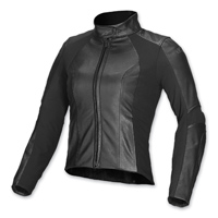 Alpinestars Women's Vika Black Leather Jacket
