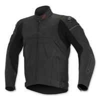 Alpinestars Men's Core Black Leather Jacket