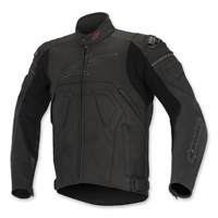 Alpinestars Men's Core Black Leather Jacket