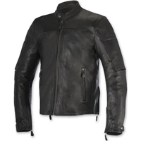 Alpinestars Men's Brera Black Leather Jacket