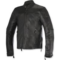 Alpinestars Men's Brera Black Leather Jacket