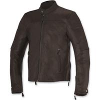 Alpinestars Men's Brera Tobacco Brown Leather Jacket