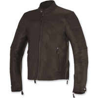 Alpinestars Men's Brera Tobacco Brown Leather Jacket